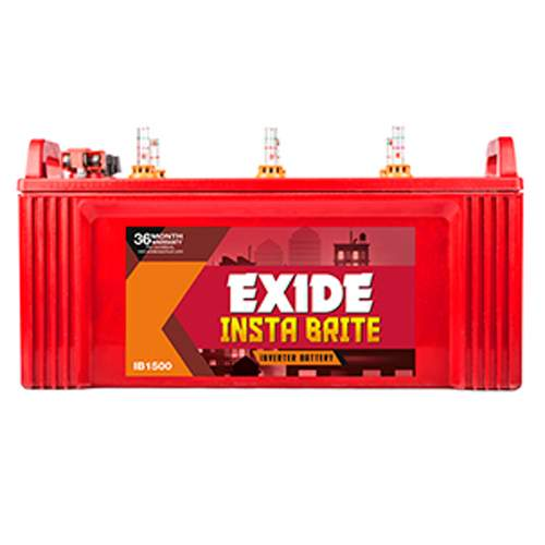 Exide Insta Brite IB1500 150AH battery