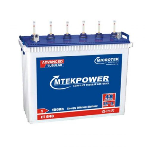 Microtek TT 2460 150AH Mtek power Tall Tubular Battery