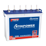 Microtek TT 3050 150AH Mtek power Tall Tubular Battery