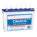 Okaya TT 5024 150AH Tall Tubular Battery