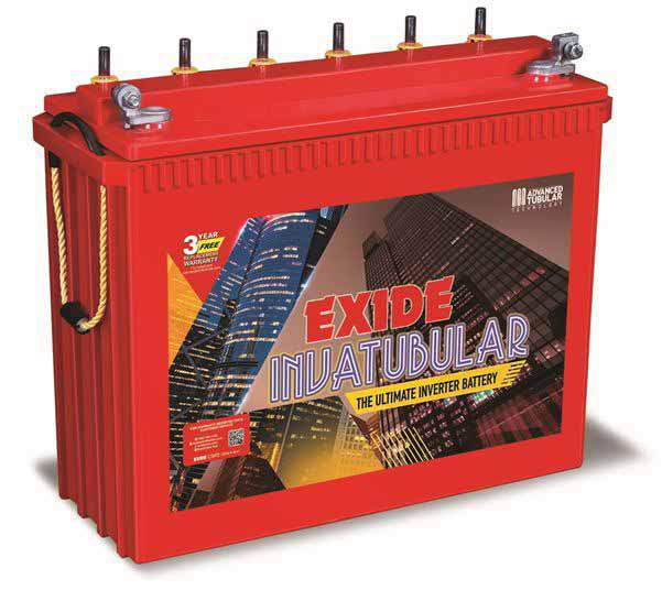 Exide Inva Tubular IT 500 150AH Tall Tubular Battery
