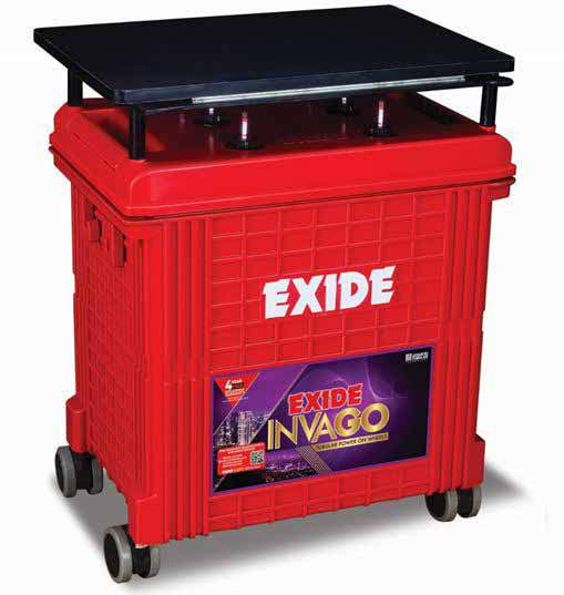 Exide InvaGo 150AH Tall Tubular Battery