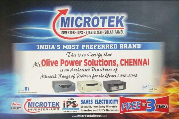 microtek certificate