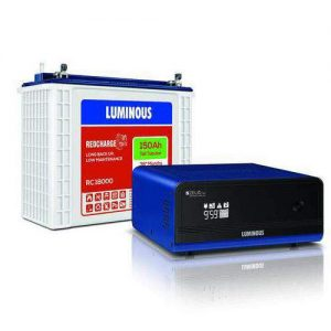 Luminous Inverter battery Combo 1100+150AH