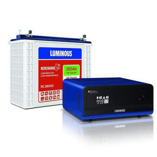 Luminous 1100+150AH Inverter battery Combo