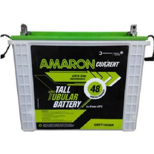 Amaron Current 150AH Tall Tubular Battery - 48 Month Warranty