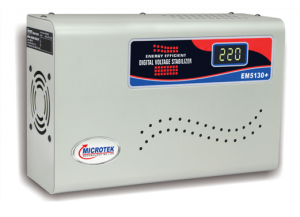 Microtek EM5130+ Voltage Stabilizer For AC Upto 2 Ton