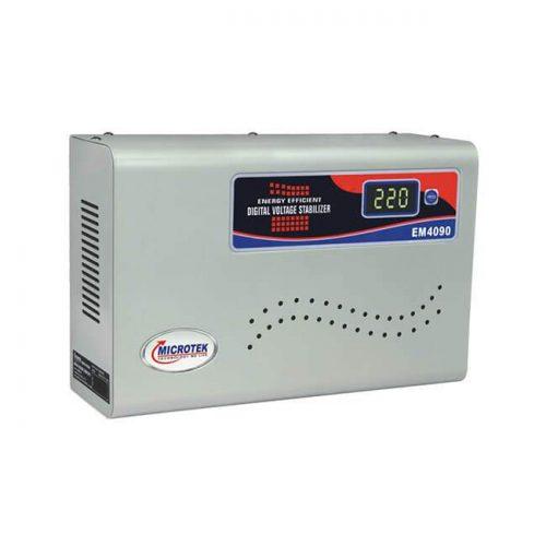 Microtek EM4090+ Digital Voltage Stabilizer Super Booster
