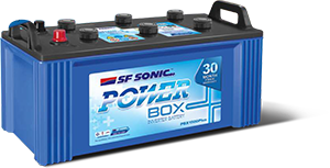 SF Sonic Power box 135AH PBX 1350 Inverter Battery