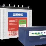 Luminous Inverter 1050+150AH battery Combo