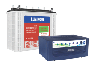 Luminous Inverter 1050+150AH battery Combo