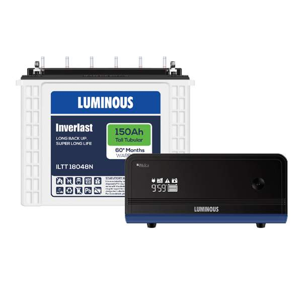 Luminous Zelio 1100+150AH 60 Months Warranty