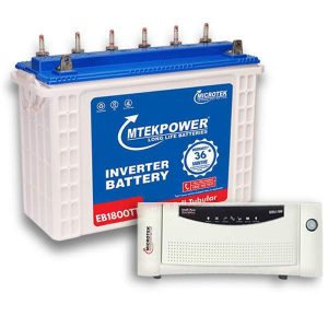 Microtek Inverter battery Combo 1200VA+150AH