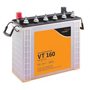 V Guard 150AH Tall Tubular Battery VT 160
