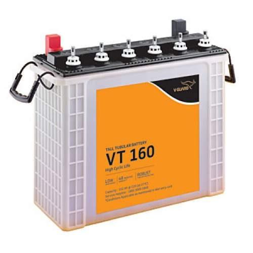 V Guard 150AH Tall Tubular Battery VT 160