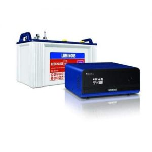 Luminous Zelio 1100+120AH Inverter battery Combo