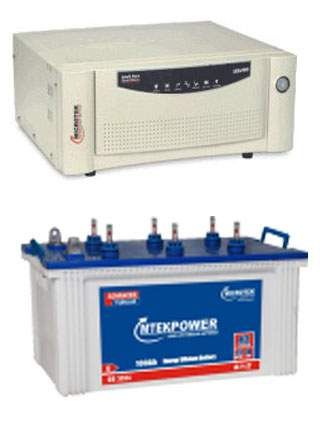 Microtek Inverter Battery Combo 900VA+100AH