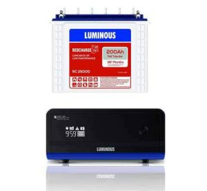 Luminous 1100+200AH Inverter battery Combo