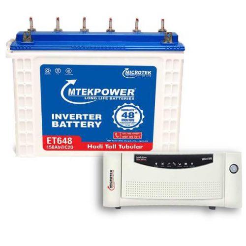 Microtek Combo 1200VA+150AH 48 Month Warranty