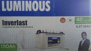 Luminous ILST1842 150AH Tubular Battery