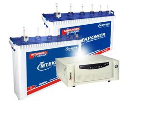 Microtek Inverter 1700+150AH Double Battery Combo