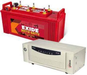 Microtek Exide Combo 700VA+88AH