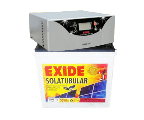 Exide Solar Combo 1100va+150ah Without Panel