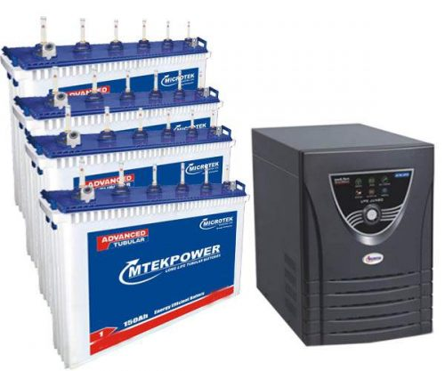 Microtek 3.6KVA Inverter with 150AH 4 Batteries
