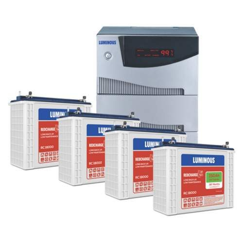 Luminous 3.5KVA Inverter with 150AH 4 Batteries