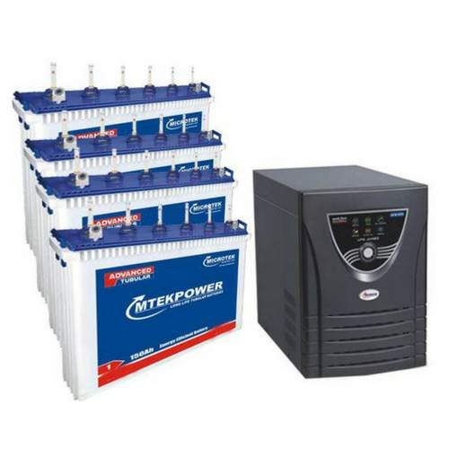 Microtek 3.7KVA Inverter with 150AH 4 Batteries