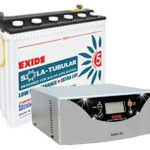 Exide Solar Inverter Combo 850va+100ah Without Panel