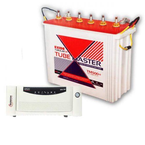 Microtek Exide Combo 1200VA+150AH