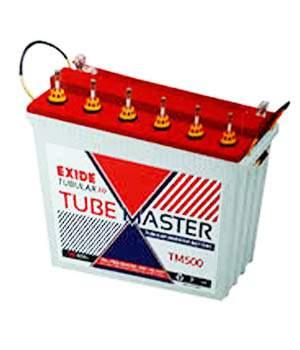 Exide Tube Master TM500 150AH Tall Tubular Battery