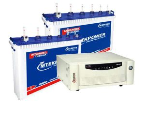 Microtek 2KVA Inverter+150AH Double Battery Combo
