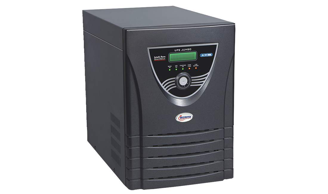 Microtek JUMBO JM SW 3000 Inverter with 3 Battery Combo