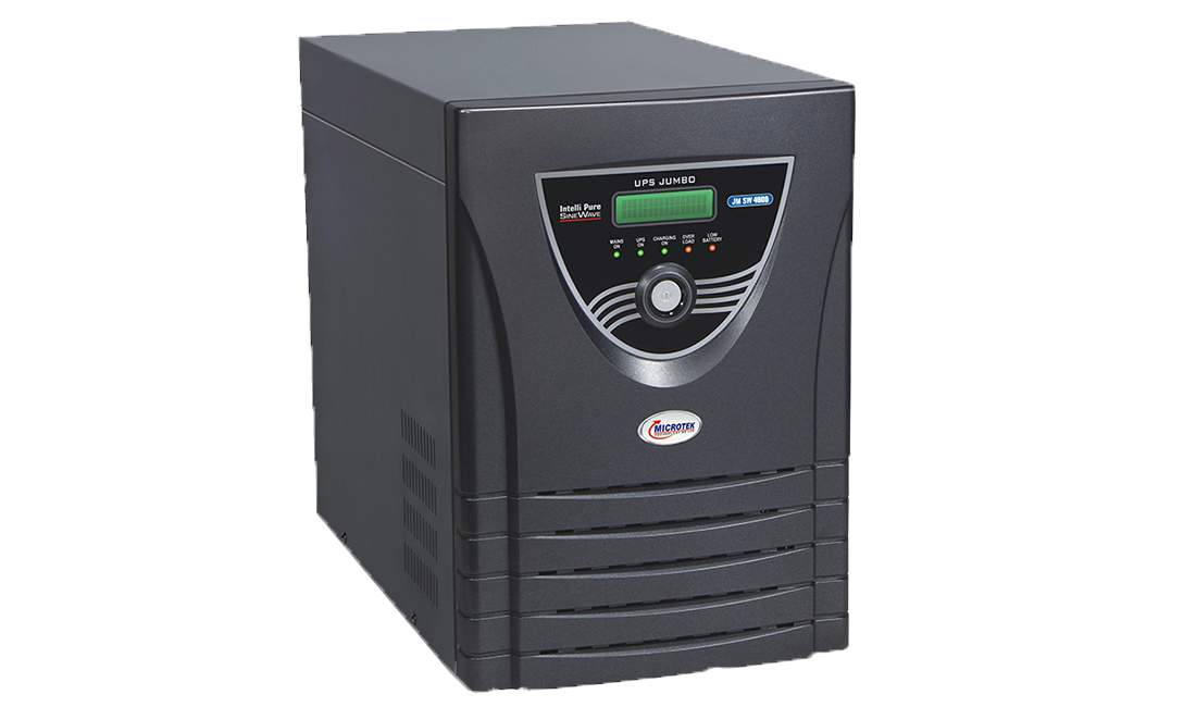Microtek JUMBO JM SW 4000 Inverter with 4 Battery Combo
