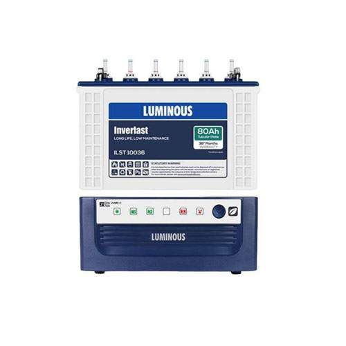 Luminous Inverter Combo 750VA+80AH
