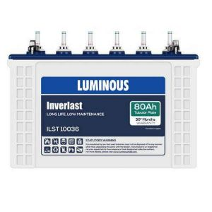 Luminous ILST10036 80AH Tubular Battery