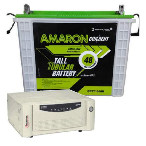 Amaron 165AH with Microtek 1100VA Combo