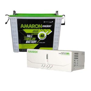 Amaron 165AH Battery with Amaron 880VA Combo