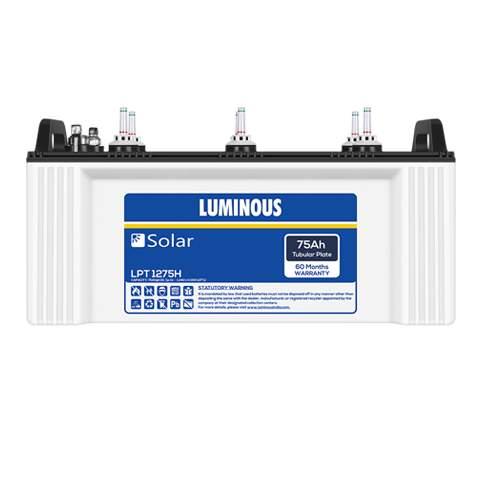 Luminous Solar LPTT 1280H 80 AH C10 Tubular battery
