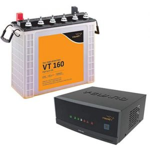 V Guard Inverter battery Combo 1050+150AH