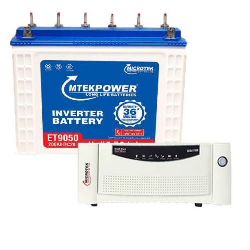 Microtek Inverter Battery Combo 1200VA+200AH