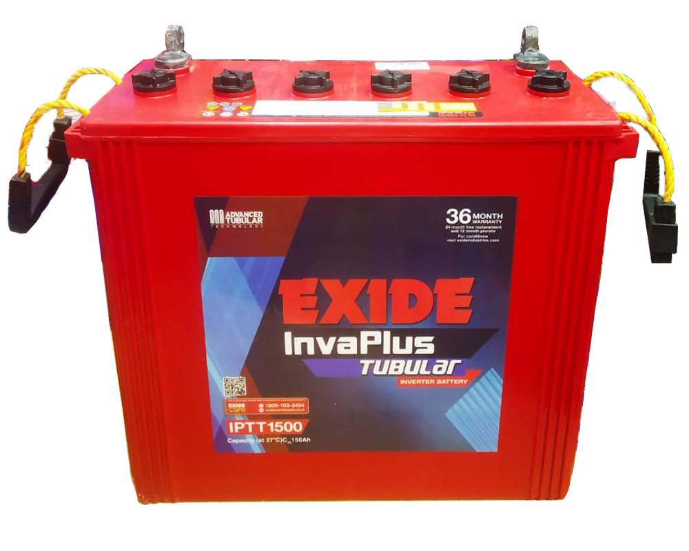 Exide Invaplus IPTT 1500 Tall tubular Larger