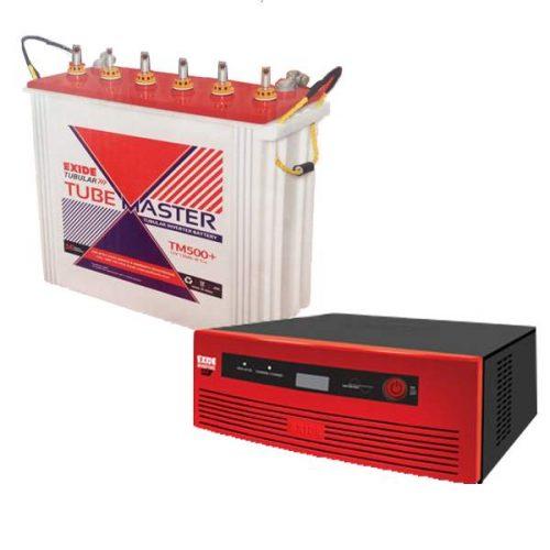 Exide 1050VA Inverter With Exide 150AH Combo