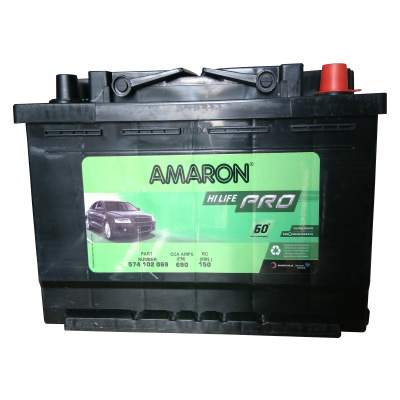 Amaron PRO AAM-PR-600109087-DIN100 Car Battery