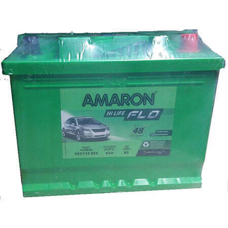 Amaron FLO AAM-FL-555112054-DIN55 55Ah Car Battery