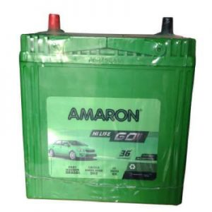 Car Battery Amaron GO 38B20L 35Ah