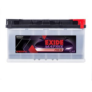 Exide Matrix Red MTREDDIN100 Car Battery