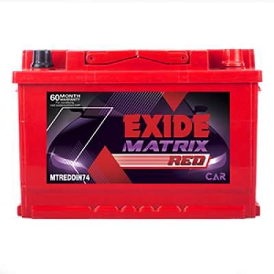 Exide Matrix Red MTREDDIN74
